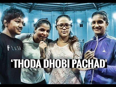 Selfie Interview with Wrestlers Vinesh, Babita and Sakshi