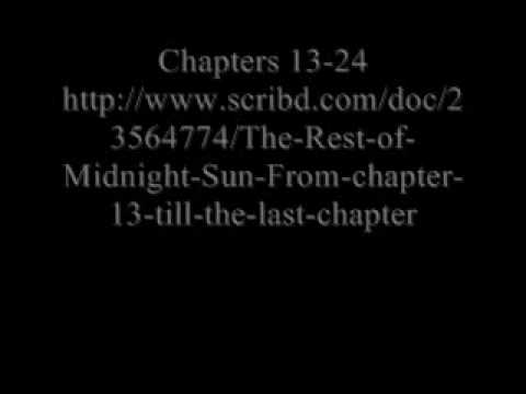 Midnight Sun Chapters Full Book Download