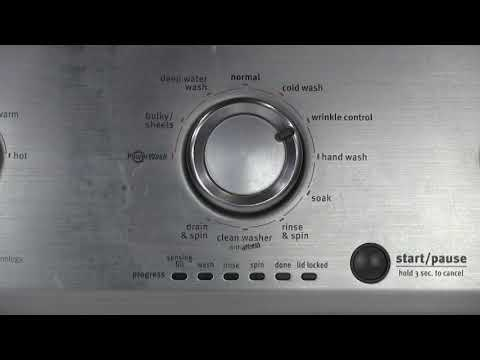 Maytag Centennial washer diagnostic mode
