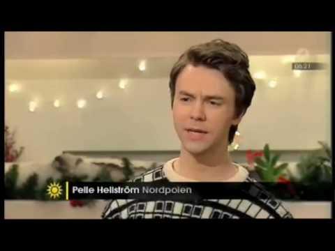 Intervju med Nordpolen i Nyhetsmorgon