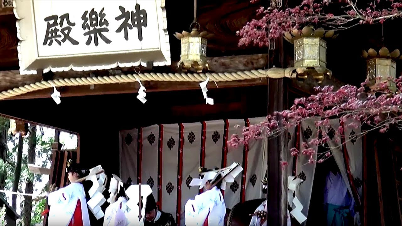 茨城県下妻市-関東最古の八幡様:大宝八幡宮 五行の舞編