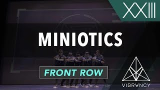 Miniotics   VIBE XXIII 2018 [@VIBRVNCY Front Row 4K] #vibedancecomp