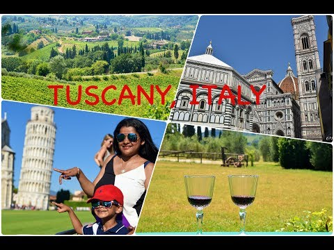 Europe Travel Diaries: Tuscany, Italy (Florence Siena San Gimignano Pisa Chianti) - by Ishaan