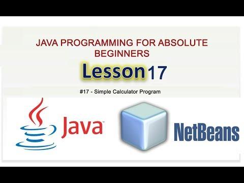 java-for-the-absolute-beginner-#17-simple-calculator-program