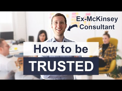 The Trust Equation: How to be Trusted by Clients and Colleagues