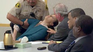 CALIFORNIA: WHITE WOMAN COLLAPSES AFTER GUILTY VERDICT FOR MURDER
