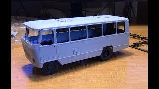 Збірка масштабної моделі автобуса Кубань SSM