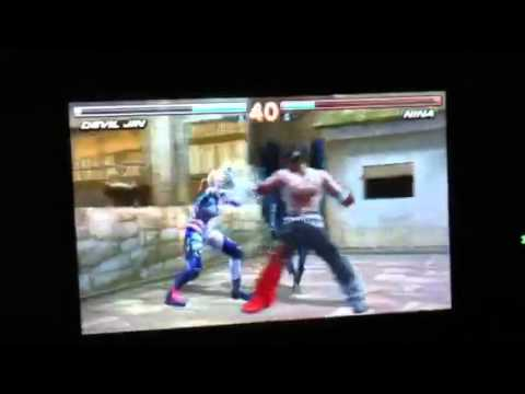 Tekken 3D Prime Edition:How to cheat at the 40-Battle EX2!