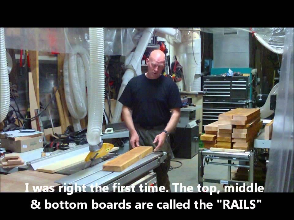 Making Solid Wood Alder Interior Doorswmv Youtube