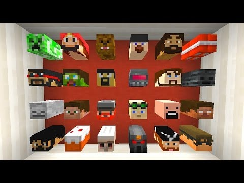 Minecraft Mini-Game: GUESS WHO #2 with Vikkstar & JeromeASF