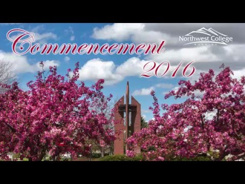 2016 Northwest College Commencement Highlights