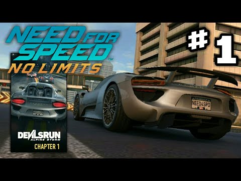 nfs no limits porsche 918 spyder devilsrun chapter 1. Black Bedroom Furniture Sets. Home Design Ideas