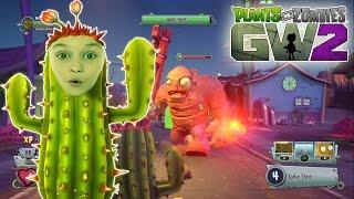 Plants vs. Zombies Garden Warfare 2 Мультик о зомби РАСТЕНИЯ против ЗОМБИ Садовые Войны 2 Кактус
