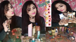 Shopping haul offline jewellery ,skin care makeup ,purfumes nd more by #zeenu life style#