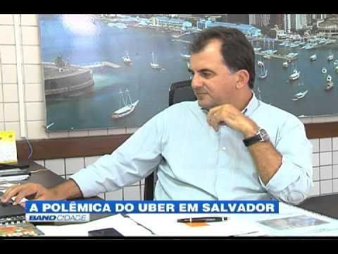 """Band Cidade - """"A polêmica do Uber em Salvador"""""""