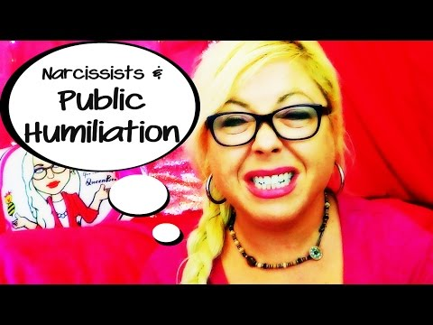 Narcissists And Public Humiliation The Smear Campaign Of A