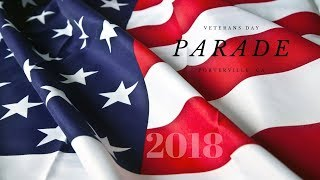 Porterville High School - Veterans Day Parade 2018