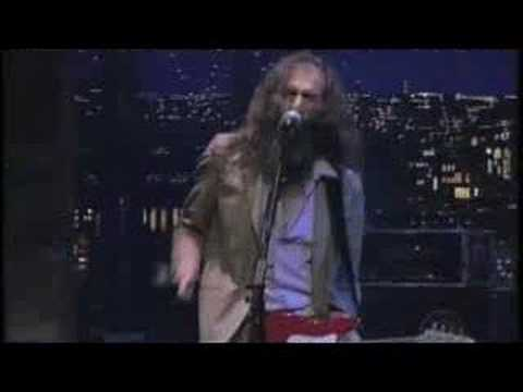 Grinderman (Nick Cave) on Letterman Honey Bee