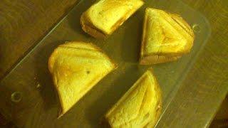 Горячие бутерброды с начинкой