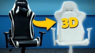 IMPRIMI UMA CADEIRA NA IMPRESSORA 3D