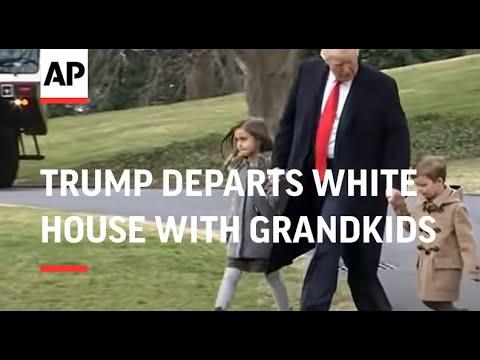 Trump Departs White