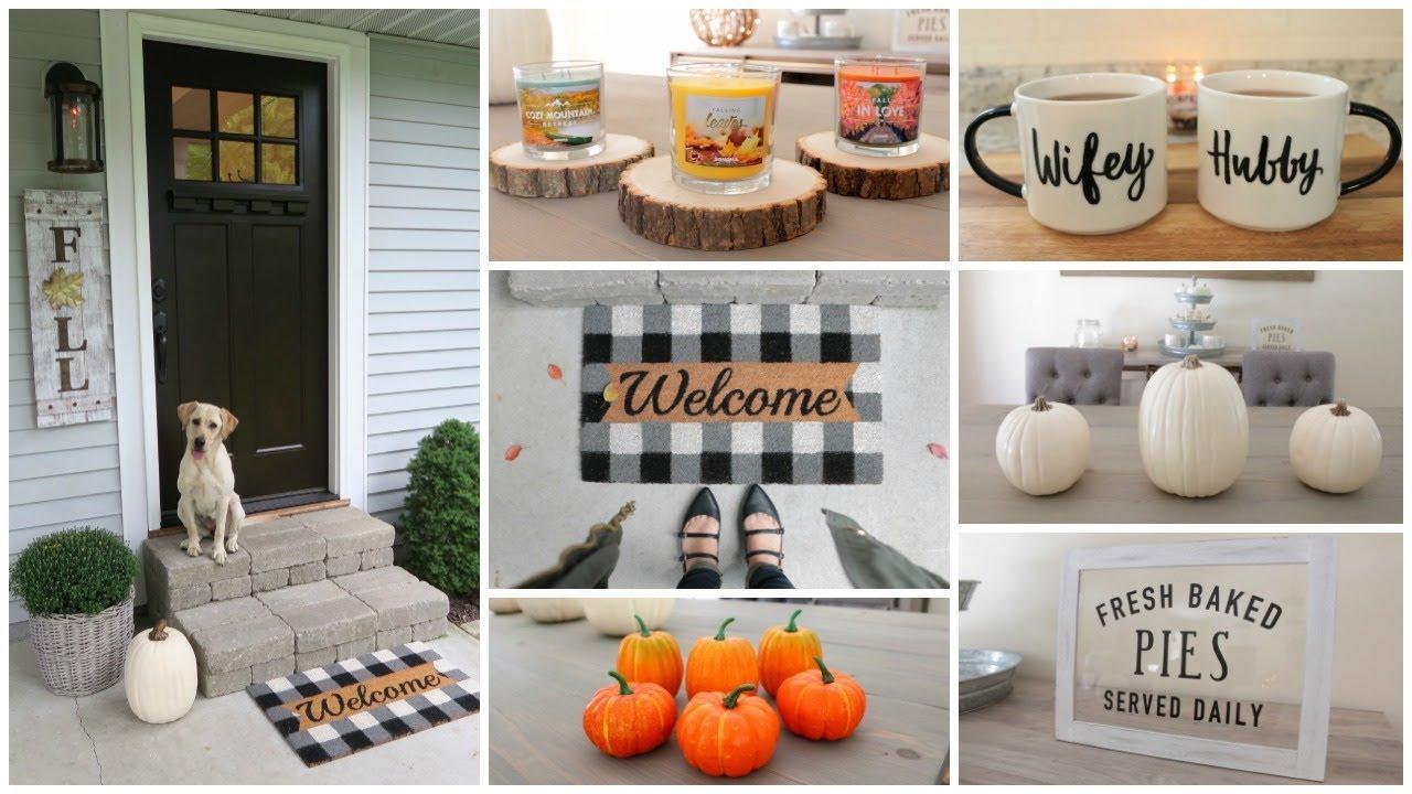 Fall Decor Haul - Target, Homegoods, Tj Maxx, Kohls & More