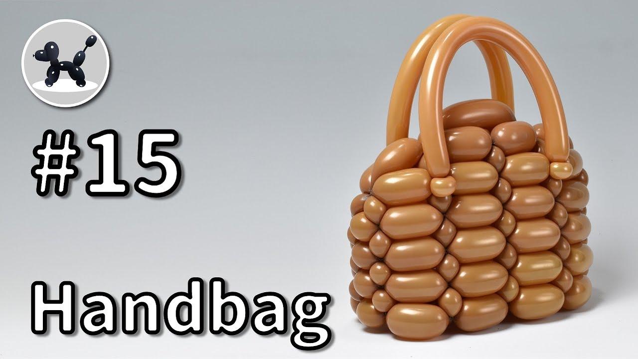 バルーンアートの作り方 #15 (ハンドバッグ) / Handbag - How to Make Balloon Animals #15