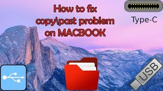 Problem with Copy/Paste files onto USB flash drive on Mac, how to fix