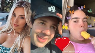 David Dobrik Confesses His Love For Natalie || David Hires New Assistant - Vlog Squad IG Stories 41