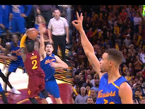 CLE VS GSW | Last 2 Minutes Of NBA Finals Rematch On Christmas Day!  12.25.16