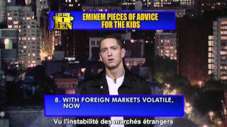 Download Eminem - Le top 10 de conseils pour enfants Vostfr MP3 song and Music Video