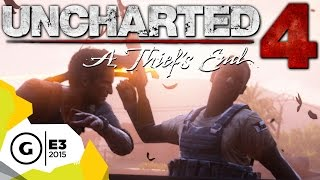Uncharted 4 Extended Gameplay Demo Impressions - E3 2015