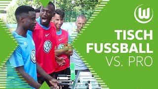 Kickerduell: Guilavogui & Ntep vs. Tischfußball-Weltmeister   Challenge   VfL Wolfsburg