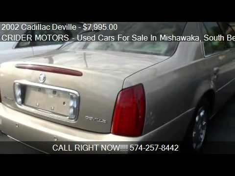2002 cadillac deville sedan for sale in mishawaka in