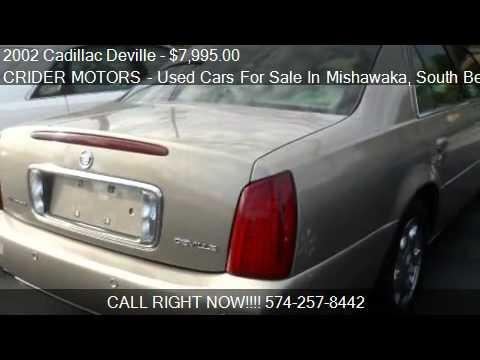 2002 cadillac deville sedan for sale in mishawaka in