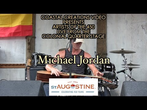 Michael Jordan-Artists of the 450 Live from the Colonial Quarter Stage