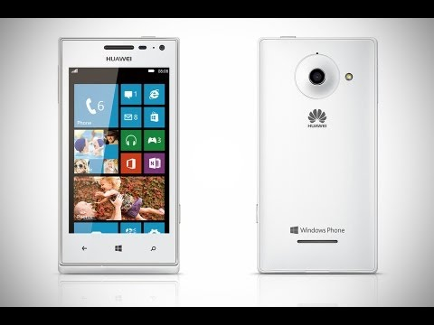 Обзор Huawei Ascend W1 (WindowsPhone 8)