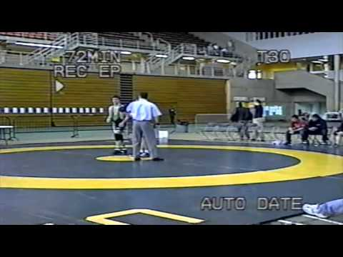 2004 Canada West Championships: 65 kg Alexis Roumanius (SFU) vs. Kelly Bates (SASK)