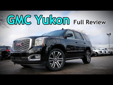 2018 GMC Yukon: FULL REVIEW | Denali Ultimate, SLT & SLE