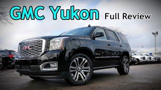 2018 GMC Yukon: FULL REVIEW | Denali Ultimate, SLT & SLE