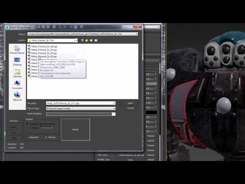 Game Development Features In 3ds Max 2016, Extension 1