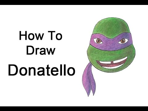 How to Draw Donatello from Teenage Mutant Ninja Turtles ...