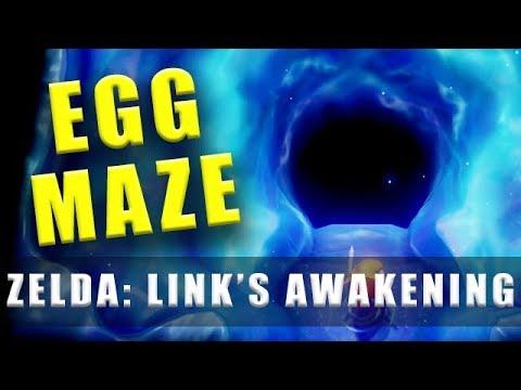 The Legend Of Zelda Link's Awakening Switch Egg Maze
