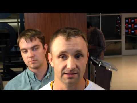 Mark Elder talks about Evan Berry kickoff returns