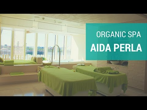 AIDAperla: Organic Spa Rundgang -  4K