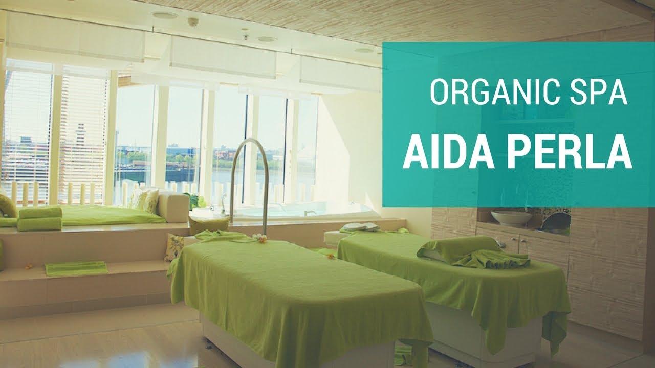 AIDAperla: Organic Spa Rundgang - 4K - YouTube