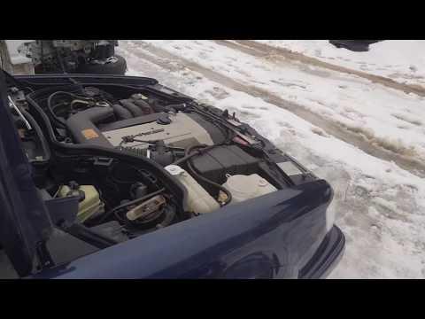 Двигатель 104.992 + АКПП на Mercedes-Benz W124 E320