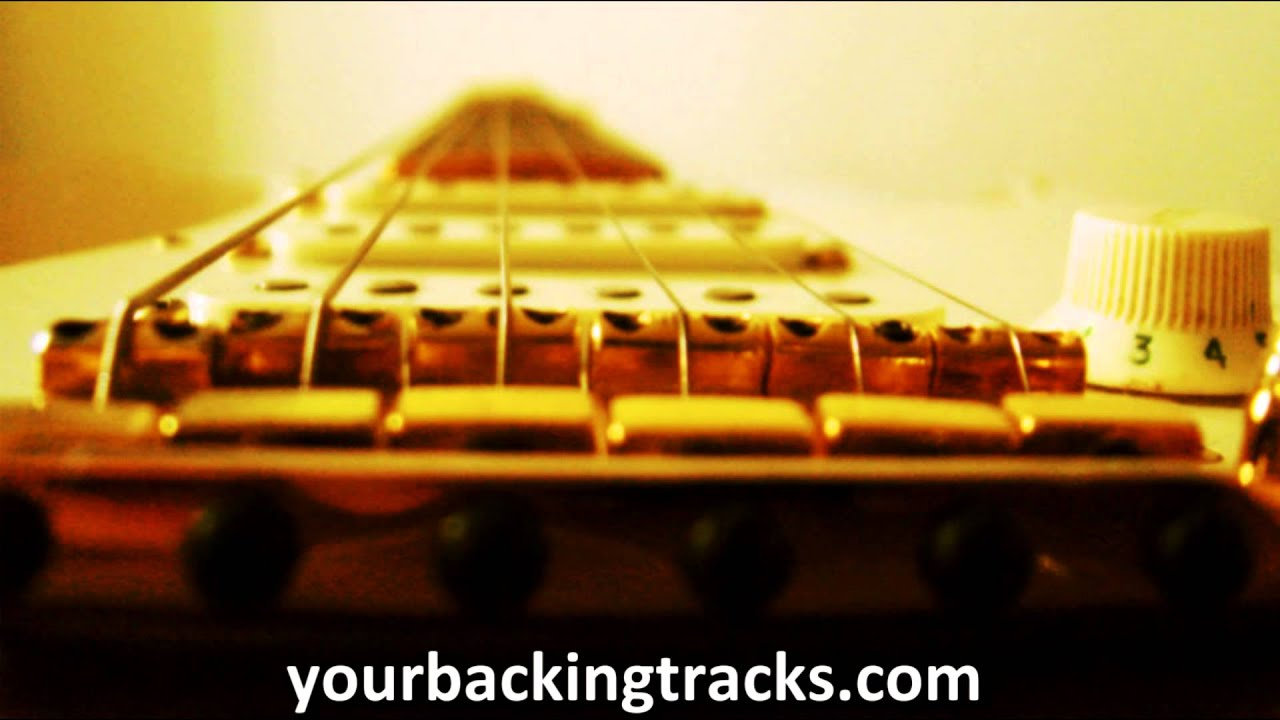 Minor Smooth Jazz Backing Track in C#m / Free Guitar Jam Tracks TCDG