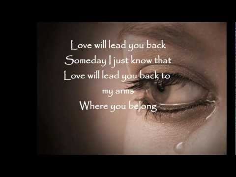 LOVE WILL LEAD YOU BACK by Mariah Carey with lyrics..