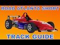 iRacing Skip Barber Track Guide at Road Atlanta Short Season 2 2017
